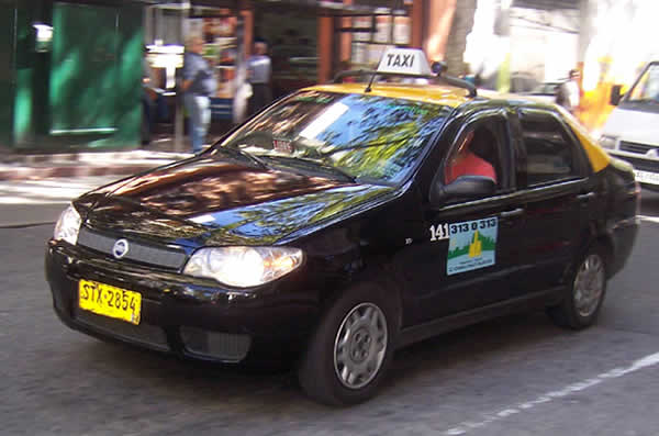 Taxis en Montevideo